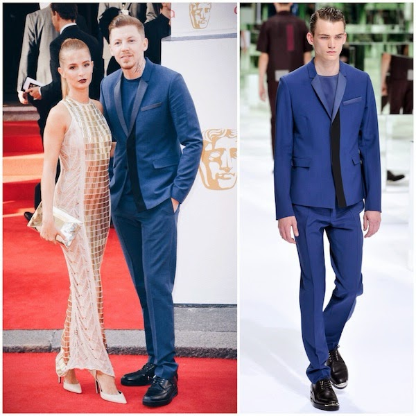 Professor Green in Dior Homme - Arqiva British Academy Television Awards 2014 #BAFTA2014