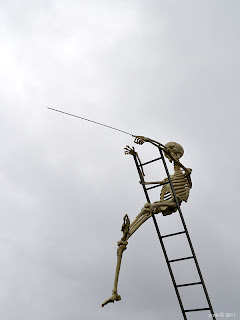 pointing bones