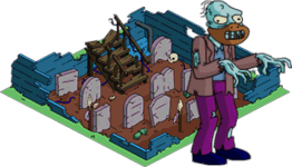 Ancient Burial Ground + Shuffling Zombie