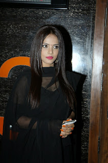 Neetu Chandra Looks Stunning in Black Transparent Anarkali Suit at the 5th Jagran Film Festival Mumbai
