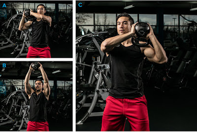 Kettlebell Shoulder-to-Shoulder Press
