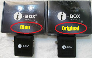 Dongle i-Box Original vs El Clon