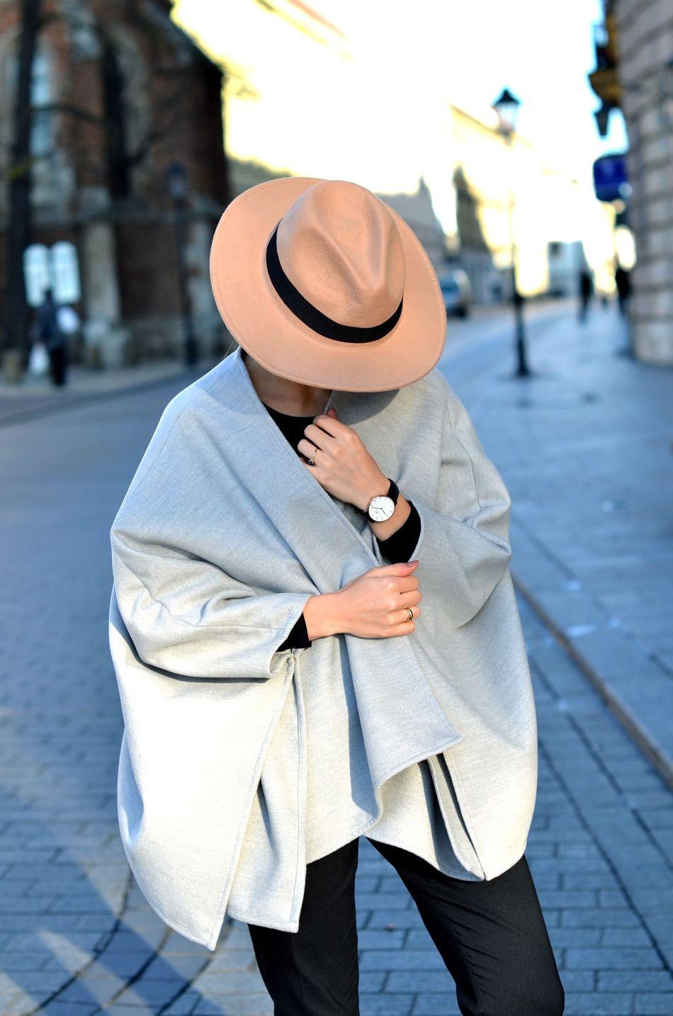 blogerka modowa | kapelusz bezowy