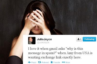 Julie Joyce Tweet