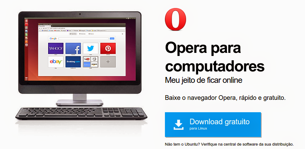 Opera 26 para Ubuntu