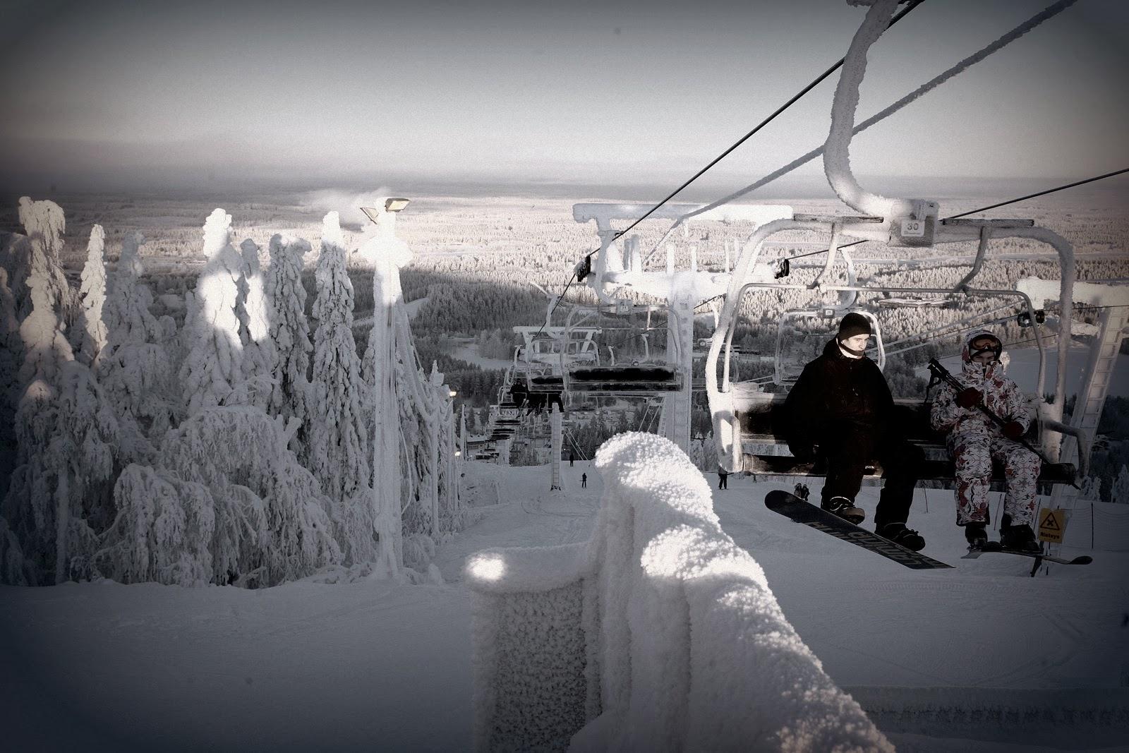 Финляндия зимой куда поехать