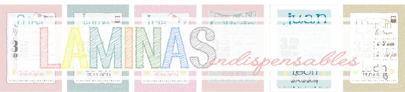 Láminas de nacimiento personalizadas diseño de Habitan2