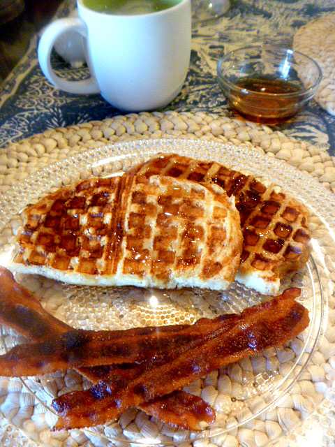 Slice of Southern: French Toast Waffles