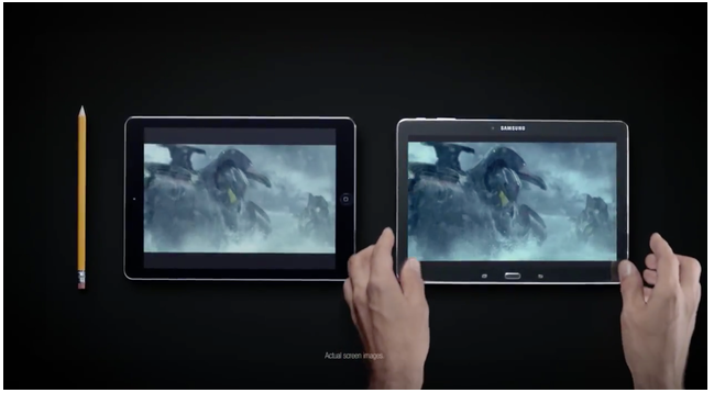 Samsung poking fun at Apple Commercial