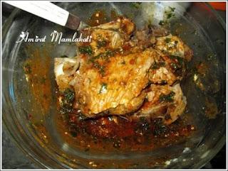 شهيوات عيد الاضحى 2013 : اللحم مبخر مع الخضر بالصور
