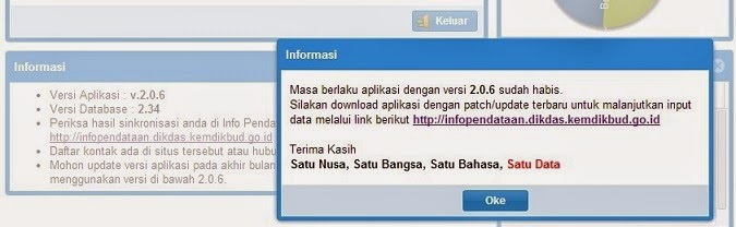 DOWNLOAD APLIKASI DAPODIKDAS 2013