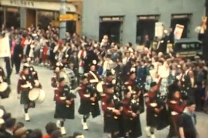 The 1959 Fleadh Cheoil festival in Thurles, County Tipperary