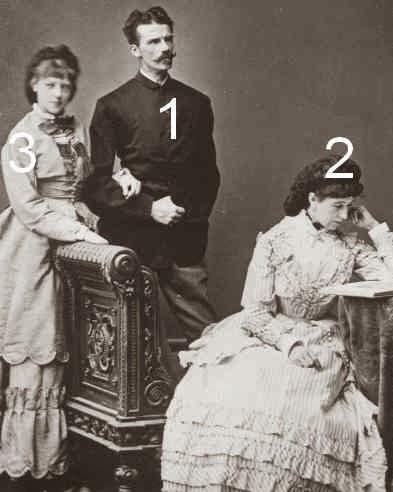 Duc Ludwig en Bavière,  Henriette Mendel, baronne Marie Louise von Wallersee-Wittelsbach