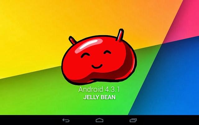 Nexus 7 Nachfolger, Nexus 7 2013, Android 4.3.1