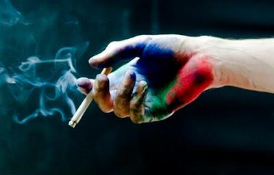 Colores fumando