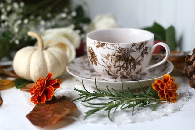 Fall Aesthetic Tea: The Charm of Home