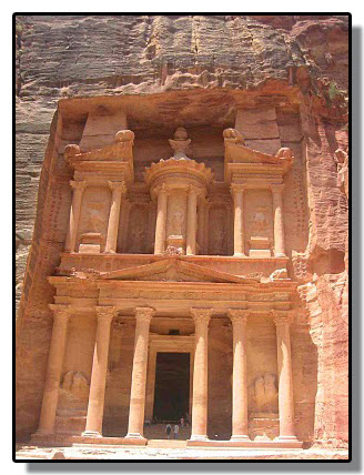 La ciudad de Petra (Jordania)
