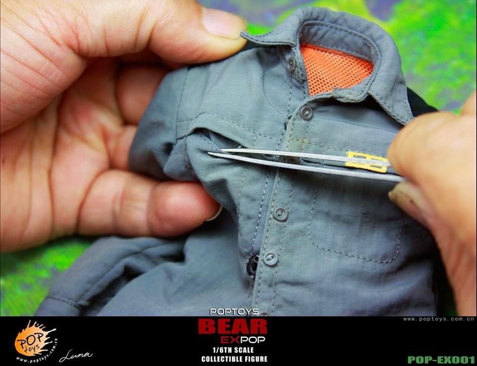 [POPTOYS] (Bear Grylls) 1/6 EX001 Wildness Survivor. Pop15
