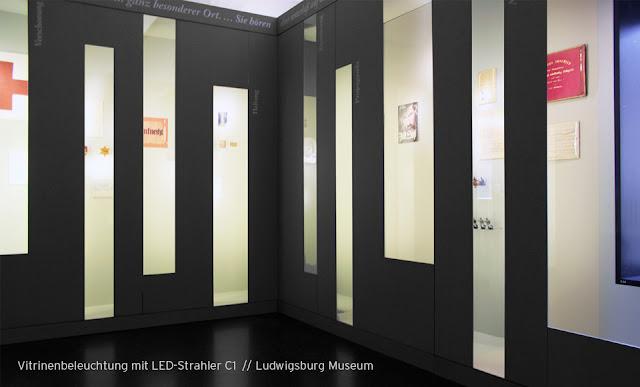 LED Strahler C1 Ludwigsburg Museum