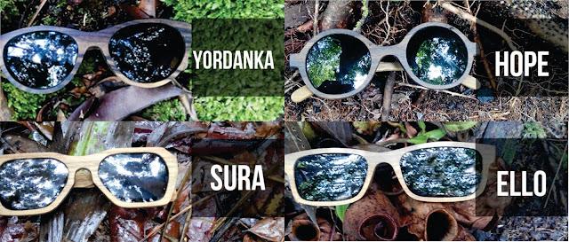 Kacamata kayu dari Borneo Eyewear