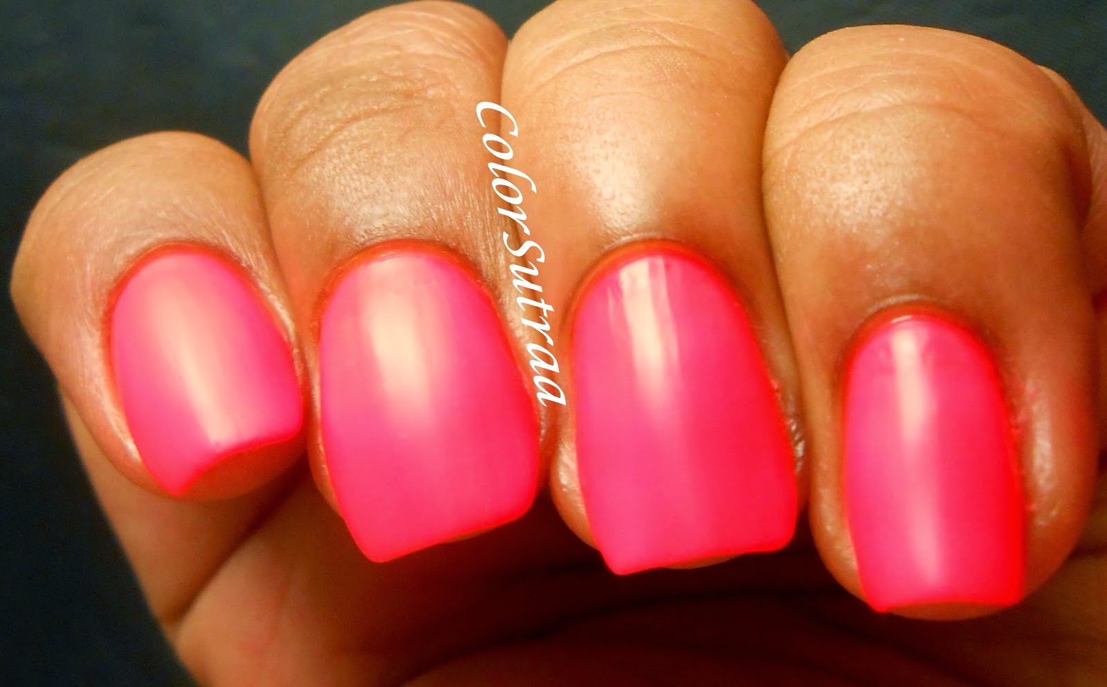 SALON PERFECT Neon Pop Duo : Swatches, Review and Nail Art - ColorSutraa