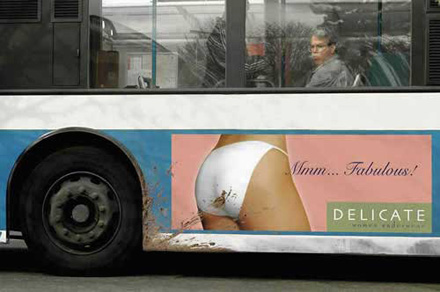 Amazing advertising on buses 17
