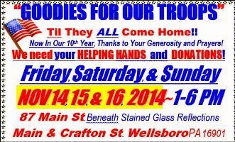 11-14/15/16 Goodies For Our Troops