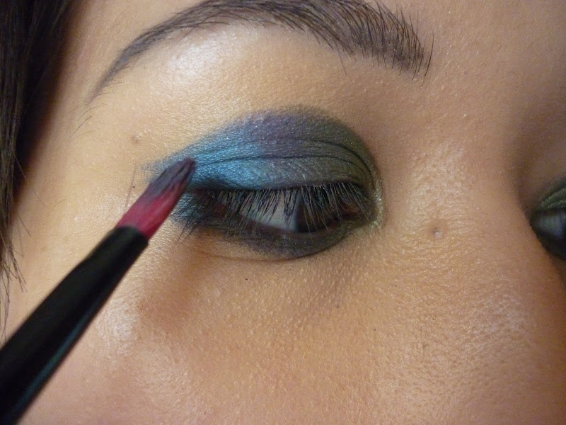 Peacock Feather-Inspired Eye Makeup Tutorial | taken by surprise