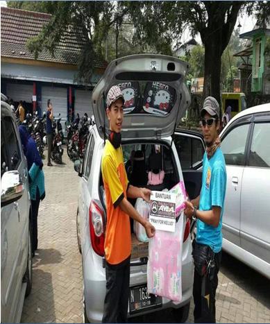 DAI Chapter Jawa Timur Pray For Kelud