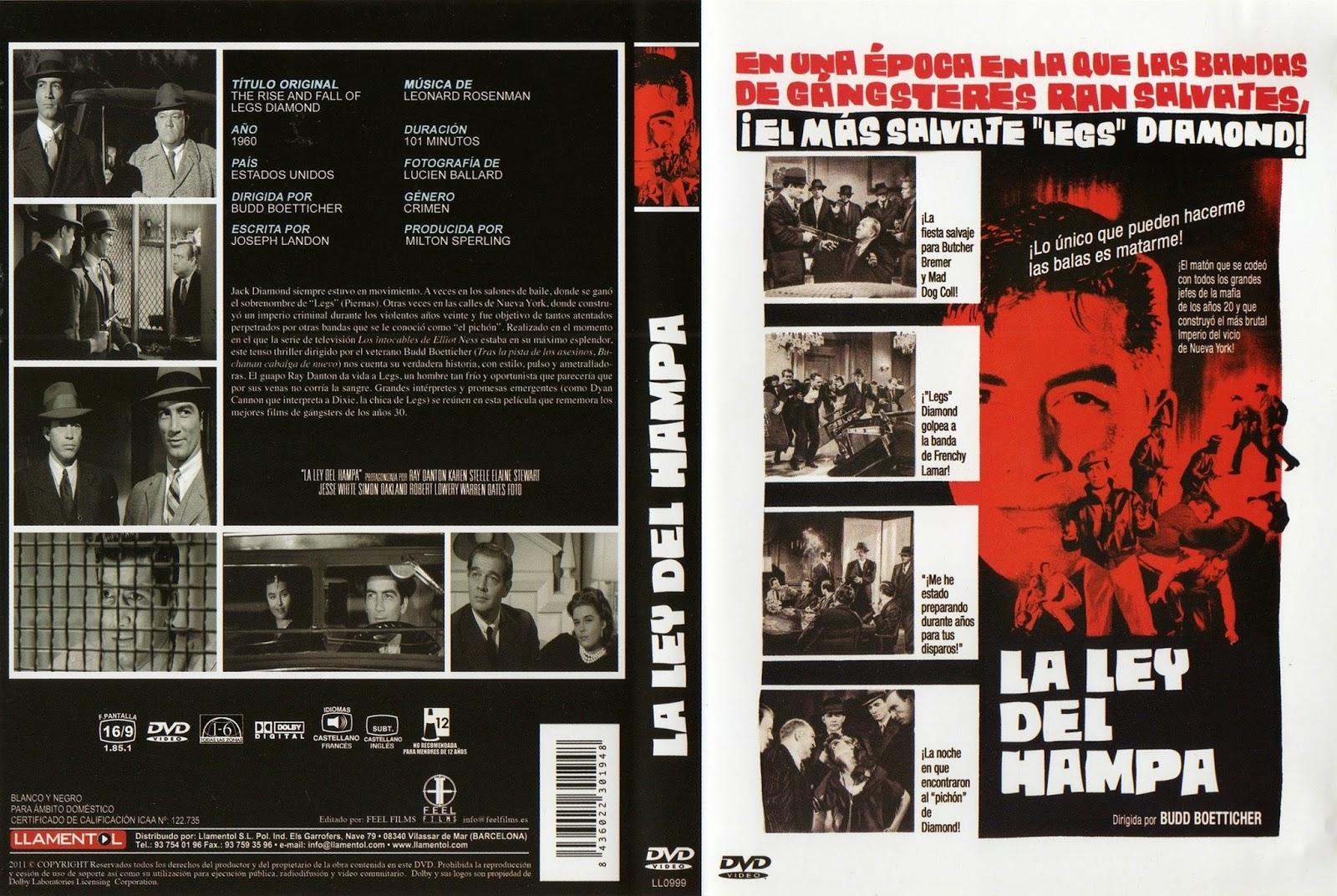 La ley del Hampa (1960 - The Rise and Fall of Legs Diamond )