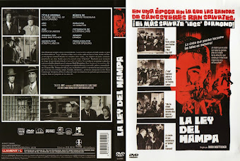 Carátula dvd: La ley del hampa (1960) (The Rise and Fall of Legs Diamond)