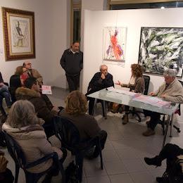 La presentazione di UT alla Galleria Opus di Grottammare.