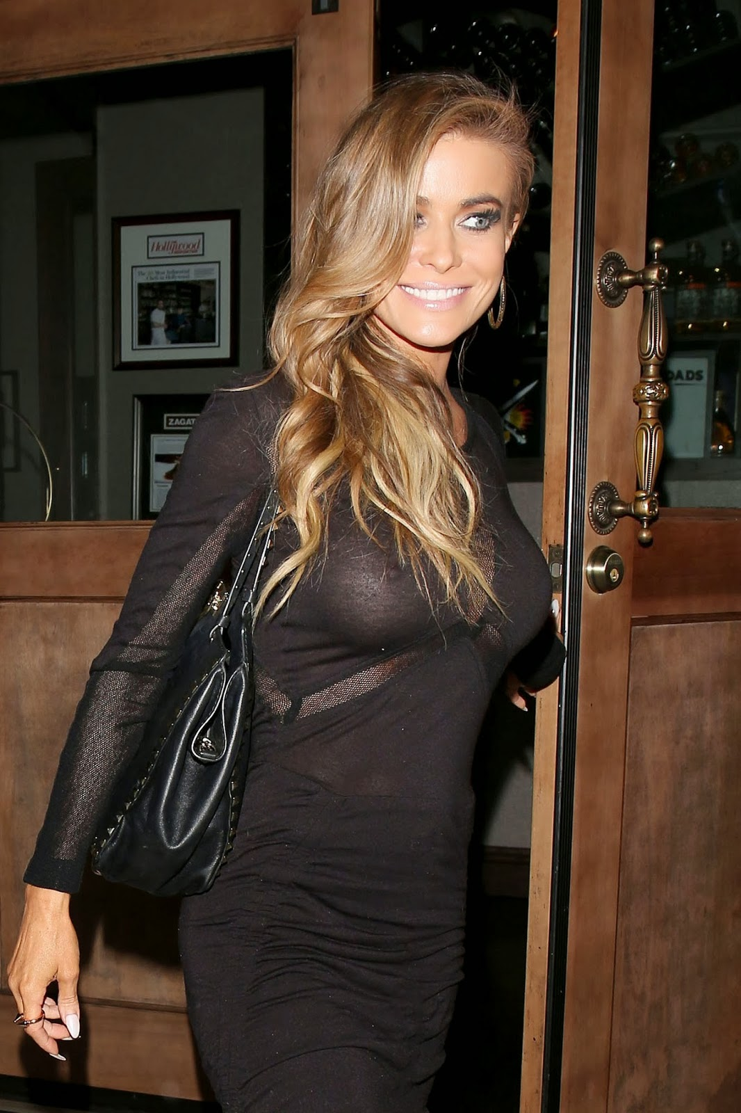 Carmen Electra Loses Bra and Panty At Leaving Crossroads