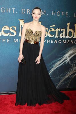Amanda Seyfried Les Miserables Premieres in New York City