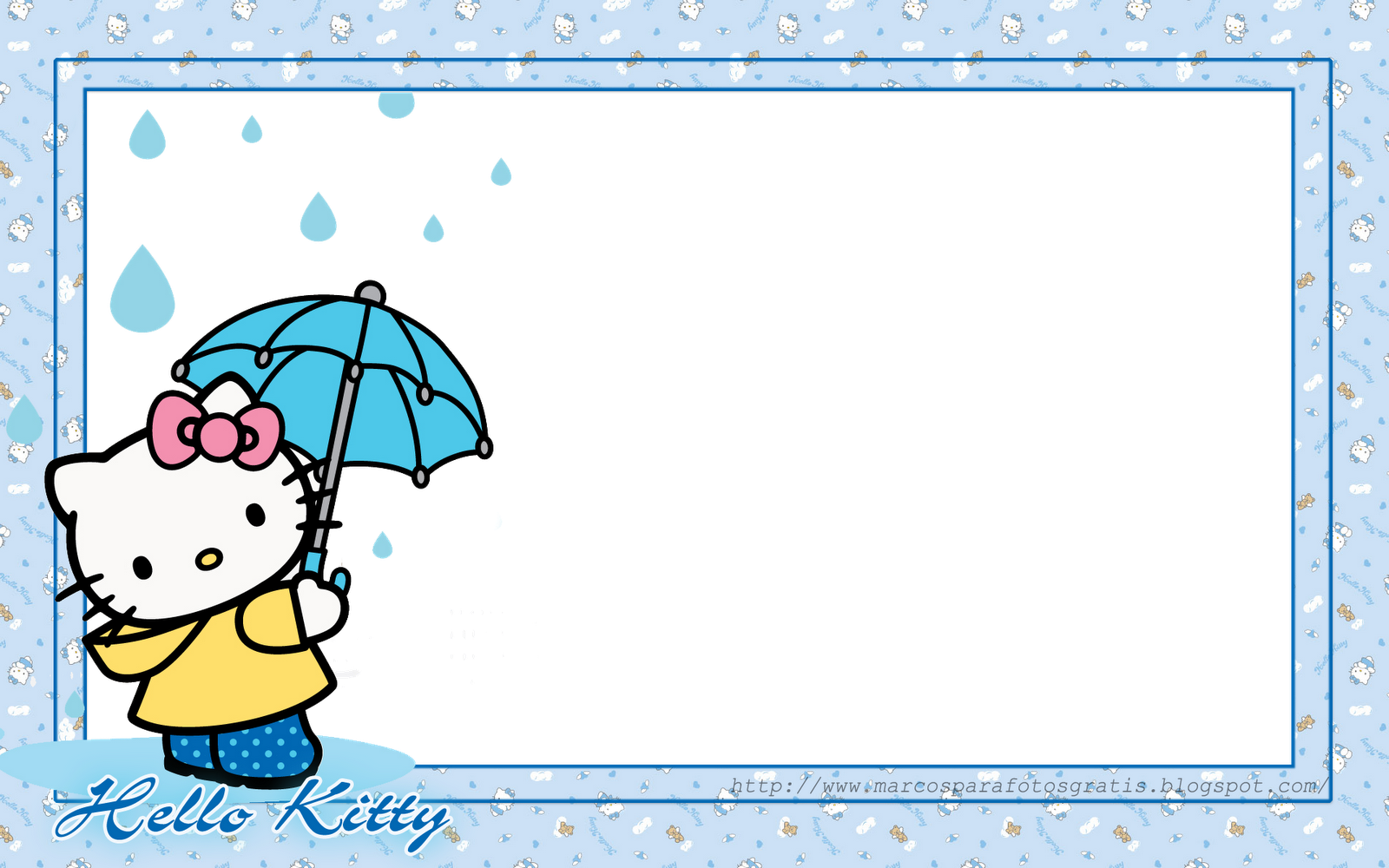 MARCOS DE HELLO KITTY, PNG Y WALLPAPER DE HELLO KITTY