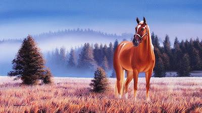 caballos-paisajes-pintados-al-oleo