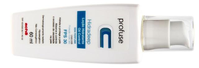 Profuse Hidradeep Loção Hidratante Oil Control FPS 30