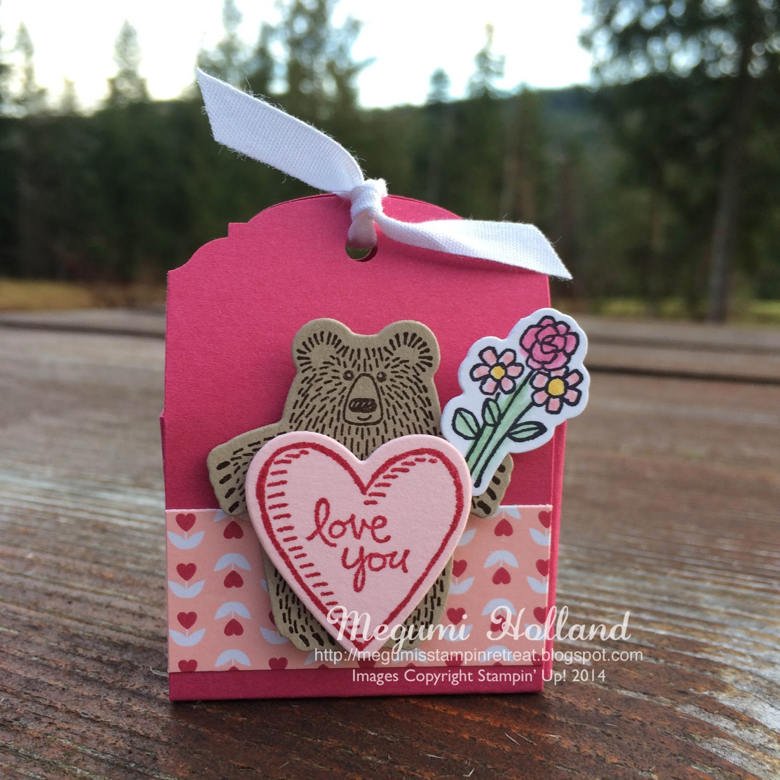 Megumi\'s Stampin Retreat: Bear Hugs Party Favor - Ornate Tag Topper ...