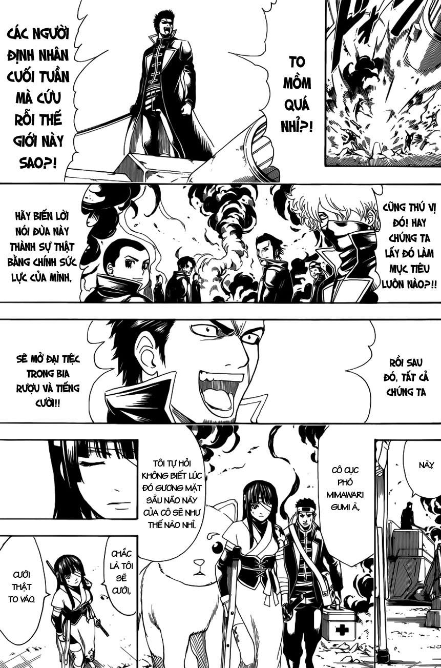 Gintama Chap 608 - Trang 11