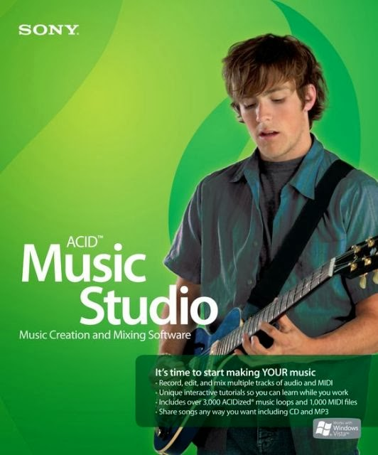 Download Software Sony ACID Music Studio 10.0 Build 99 Multilingual