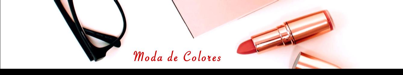 Moda de Colores