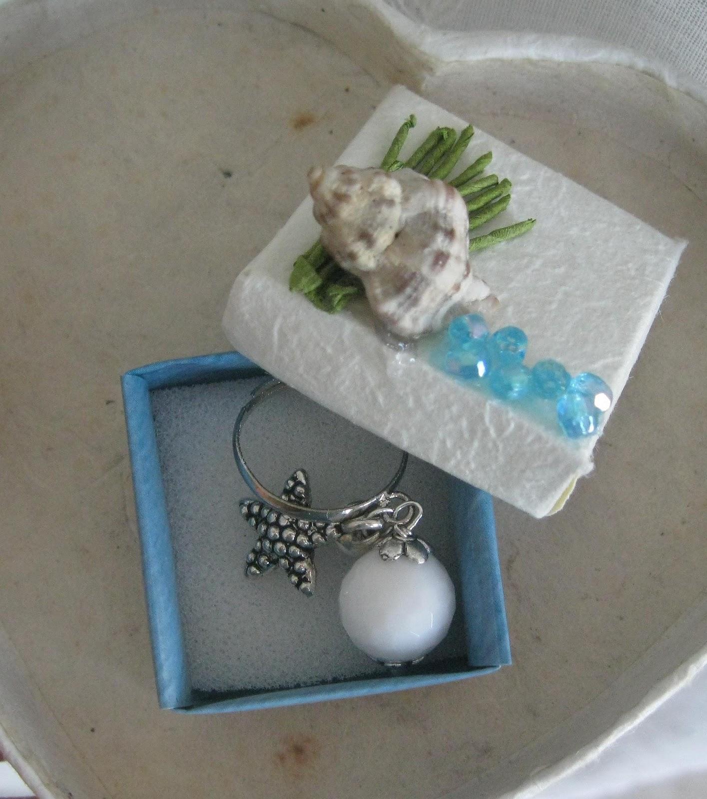 Note di zucchero una mini scatola porta anello - Scatola porta orecchini ...