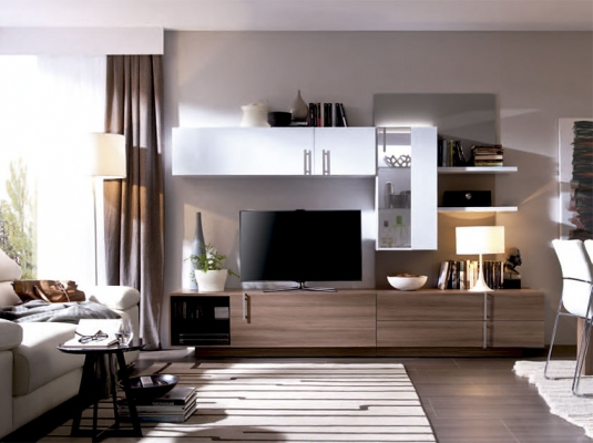 Informaci n de mobiliario opini n de producto colecci n for Modulos salon blanco