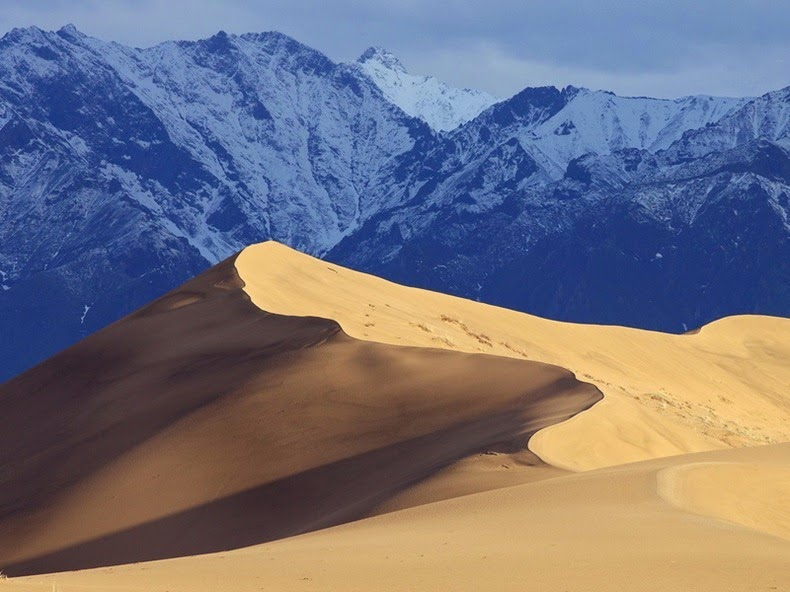 Chara Sands: Miniature Desert in the Freezing Cold of Siberia