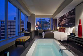 Asturias en el mundo hoteles de lujo en santiago de chile for Piscina hotel w santiago