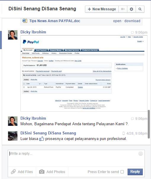 Cara Verifikasi akun Paypal tanpa kartu Kredit