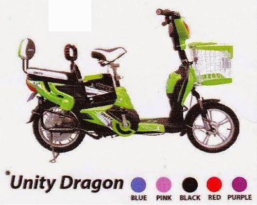 Jual Sepeda Listrik Unity Dragon Di Jakarta Utara