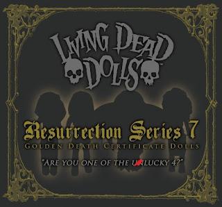 Mezco Living Dead Dolls Ressurection VII Series SDCC 2013 Exclusive Figures