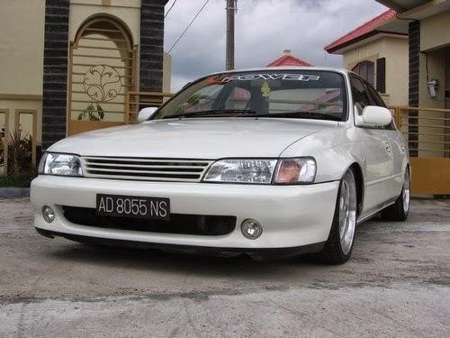 Modifikasi Great Corolla 95 Ceper gaul Abis  JDMModifikasi