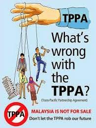 Lawatan Obama Ke Malaysia  Kerana TPPA